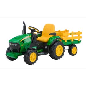 PEG PEREGO elektromobilio John deere traktoriaus originalus priekinis ratas  (kairė)