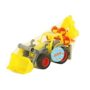 "Traktorius su ekskavatoriumi ""ConsTruck"""