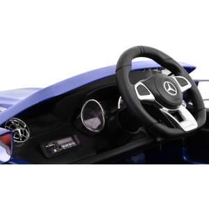 "Vaikiškas elektromobilis ""Mercedes AMG SL65"" Mėlynas - lakuotas"