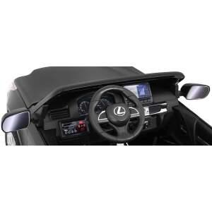 """Vaikiškas elektromobilis """"Lexus LX570"""" Juodas - Lakuotas"""