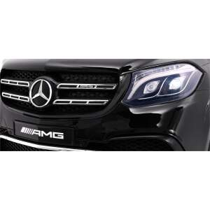 "Vaikiškas elektromobilis ""Mercedes AMG GLS63"" Juodas - Lakuotas"