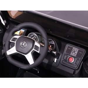 "Vaikiškas elektromobilis ""Mercedes G65 AMG"" Baltas - Lakuotas"