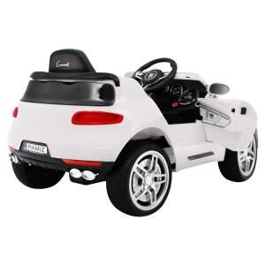 "Vaikiškas elektromobilis ""Turbo-S"" Baltas"