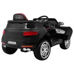 """Vaikiškas elektromobilis """"Turbo-S"""" Juodas"""