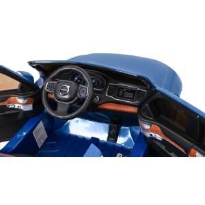 """Vaikiškas elektromobilis """"VOLVO XC90"""" Mėlynas - Lakuotas"""