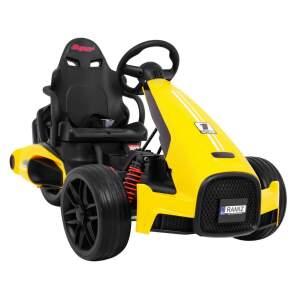 "Vaikiškas Triratis elektromobilis ""XR-1"", Geltonas"