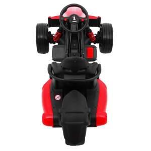 """Vaikiškas triratis elektromobilis """"XR-1"""" Raudonas"""