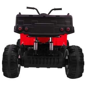 Vaikiškas vienivietis keturratis 4x4 Raudonas