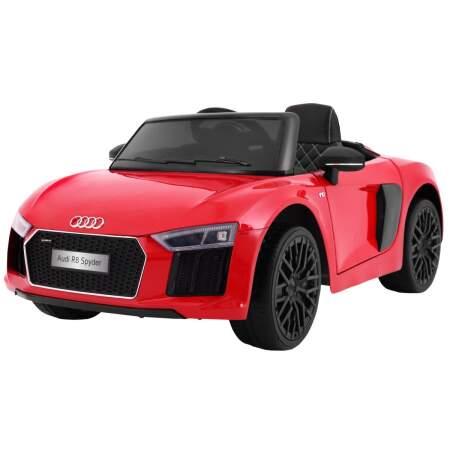 """Vaikiškas elektromobilis """"AUDI R8 Spyder"""" Raudonas - Lakuotas"""