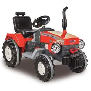 """Elektrinis 12V traktorius """"Power Drag"""" raudonas Jamara nuo 3 metų"""