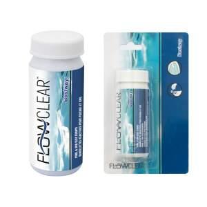 Testerio juostelės pH, vandens šarmingumui nustatyti Bestway