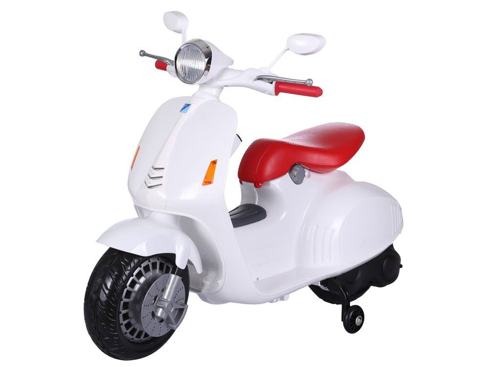 "Vaikiškas motoroleris ""VESPA"" baltas"