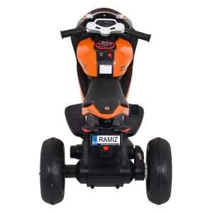 "Triratis elektrinis motociklas ""Super"" Oranžinis"