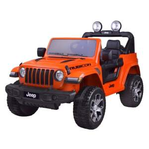 """Vaikiškas elektromobilis """"JEEP Wrangler Rubicon"""", oranžinis"""
