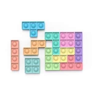 """POP IT antistresinis žaislas """"Tetris"""", dėlionė"""