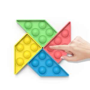 """POP IT antistresinis žaislas """"Vėjo malūnas"""", dėlionė"""