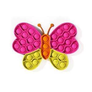 """POP IT antistresinis žaislas """"Spalvotasis drugelis"""", dėlionė"""