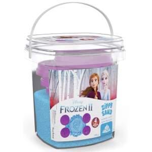 """Violetinės spalvos kinetinis smėlis""""Frozen"""" 350g."""