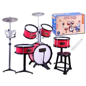 """Vaikiški būgnai """"Jazz Drum"""", raudoni"""