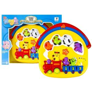 """Interaktyvus žaislas """"Gyvūnų traukinukas"""""""