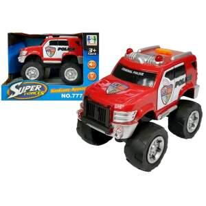 """Policijos automobilis """"Super Forces"""", raudonas"""
