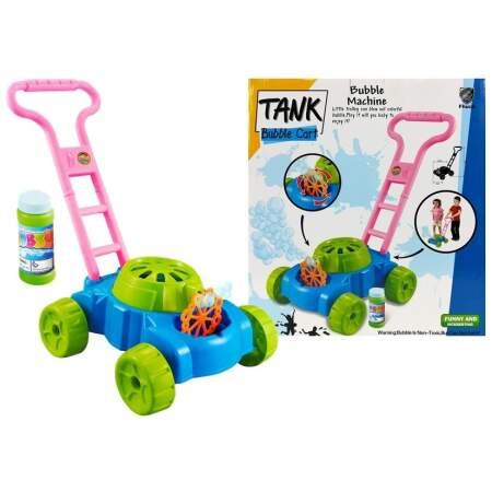 Muilus pučianti žaislinė žoliapjovė