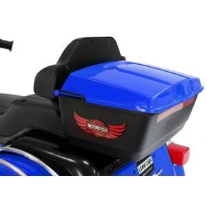 """Vaikiškas elektrinis motociklas """"ABM5288"""", mėlynas"""