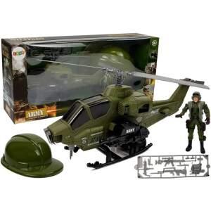 Karinio sraigtasparnio rinkinys su šalmu