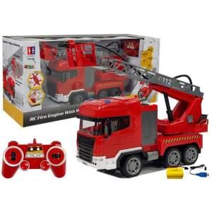 Nuotoliniu būdu valdomas ugniagesių automobilis