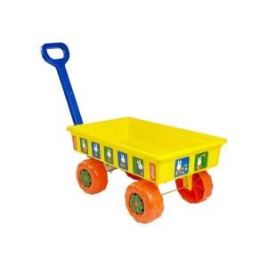"""Sodo vežimėlis """"Zuikučiai"""", geltonas"""