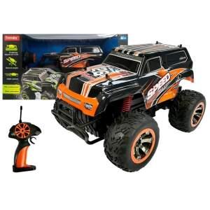 """Nuotoliniu būdu valdomas džipas """"Jeep Auto"""", oranžinis"""