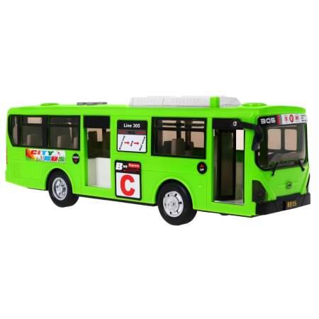 """Žaislinis mokyklinis autobusas, """"Blue Gimbus"""", žalias"""