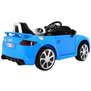 "Vaikiškas elektromobilis ""AUDI Quattro TT RS"" Mėlynas"