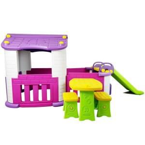 Vaikiška žaidimų aikštelė, violetinė