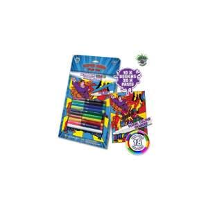 Magiška spalvinimo knygelė SUPER HEROJAI