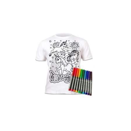 Marškinėliai su flomasteriais, Vienaragiai