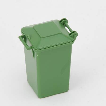 BRUDER Šiukšliadėžė, žalia konteineris, 042639