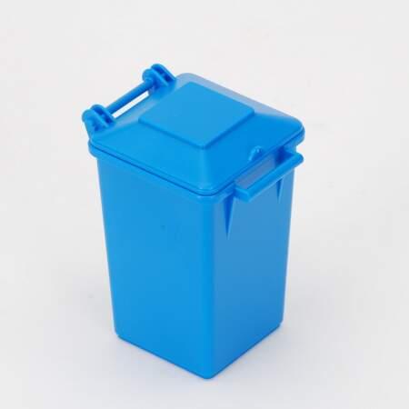 BRUDER Šiukšliadėžė, mėlynas konteineris, 42639-1