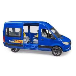 """BRUDER mikroautobusas MB """"Sprinter Transfer"""" su vairuotoju ir keleiviu, 02670"""