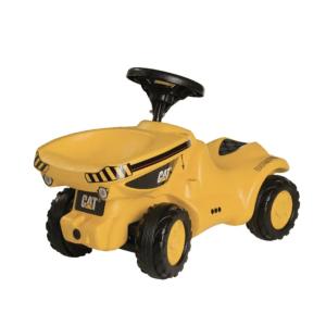 ROLLY TOYS DUMPER paspiriamas traktorius Caterpillar, CAT