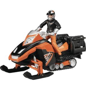 BRUDER žaislinis sniegomobilis su vairuotojo figūra, 63101